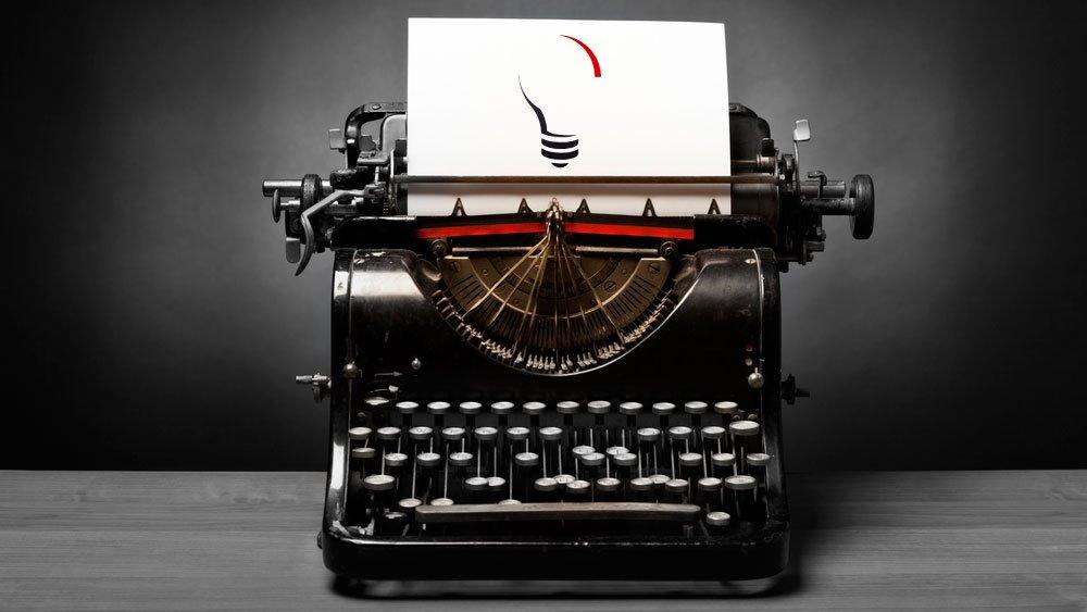 A cool vintage typewriter