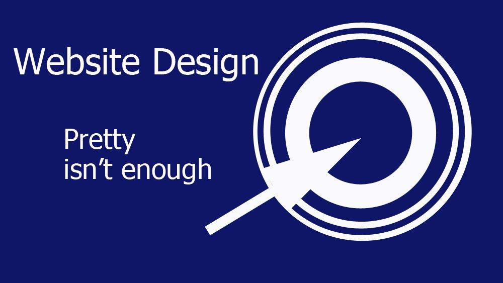 Website Design - When pretty fails