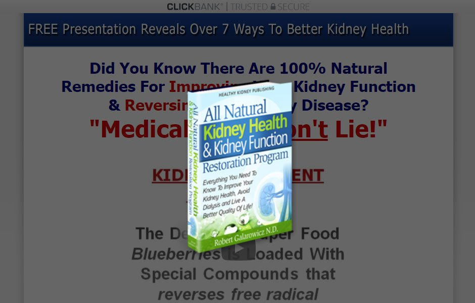 Heal Kidney Disease