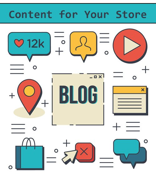 Your online store needs a lot of great content for SEO