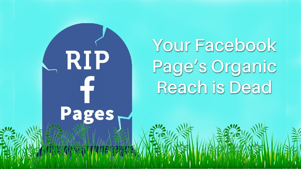 Organic Reach for your Facebook page is dead