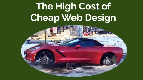 Cheap Web Design may cost you far more than any perception of savings