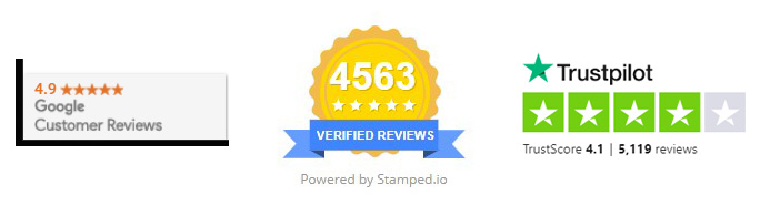 Trustmarks from third party review sites