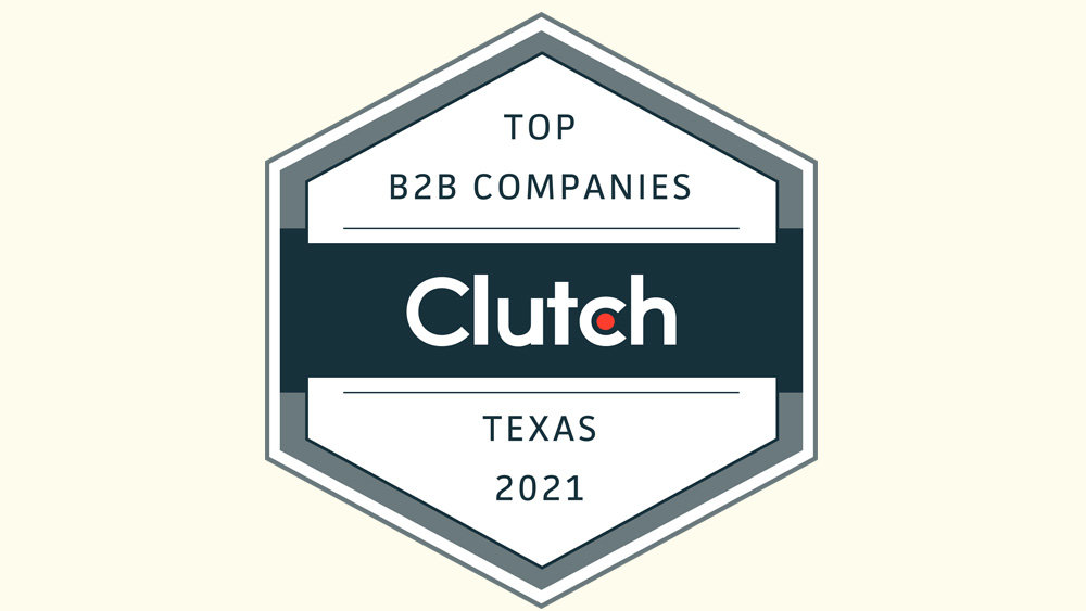 Redline Minds wins the Top B2B Businesses in Texas 2021 award