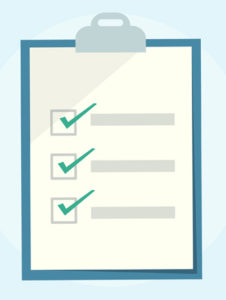 Assemble a checklist of needs for YOUR store